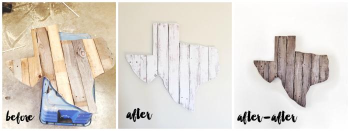 DIY Texas Pallet