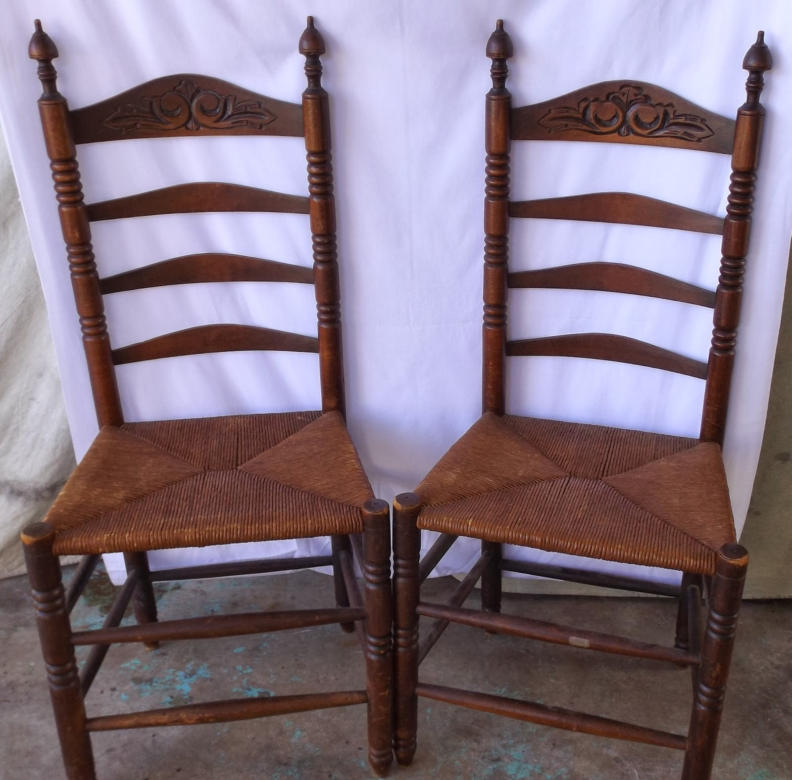 Shaker Ladder Back Chair Foldable Floor Malaysia Still Stunning Vintage Resale Two Style