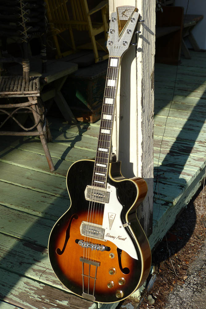The Gibson Barney Kessel wasn\'t designed by Barney after all ...