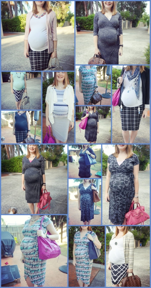 AwayFromTheBlue | 3rd Trimester Capsule Wardrobe Office Wear Work Outfits