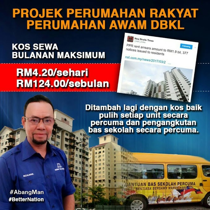 Setuju Beri Notis Keluar Serta Merta Kepada Penyewa PPR & PA Yang Tak Sedar Dek Untung #DBKL