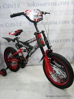 2 Sepeda Anak Forland 1201 Full Suspension 12 Inci