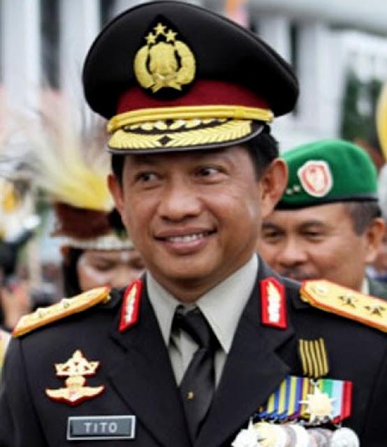 DPR Menyetujui Komjen Pol Tito Karnavian Menjadi Kapolri