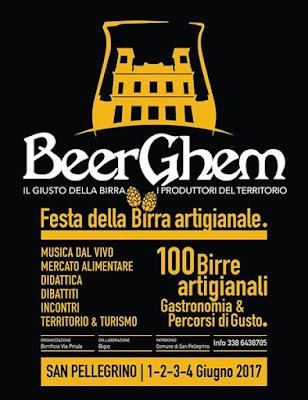 BeeRGhem  Festival delle Birre Artigianali 1-2-3-4 giugno San Pellegrino (BG)