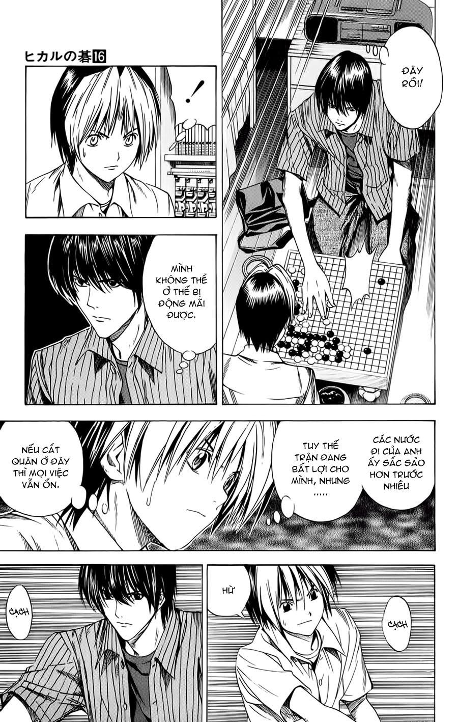 Hikaru No Go hikaru no go chap 139 trang 14