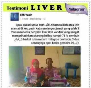 Milagros Untuk Liver