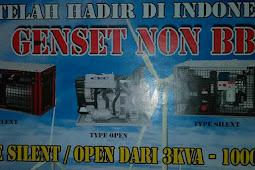 GENSET OVERUNITY TANPA BBM