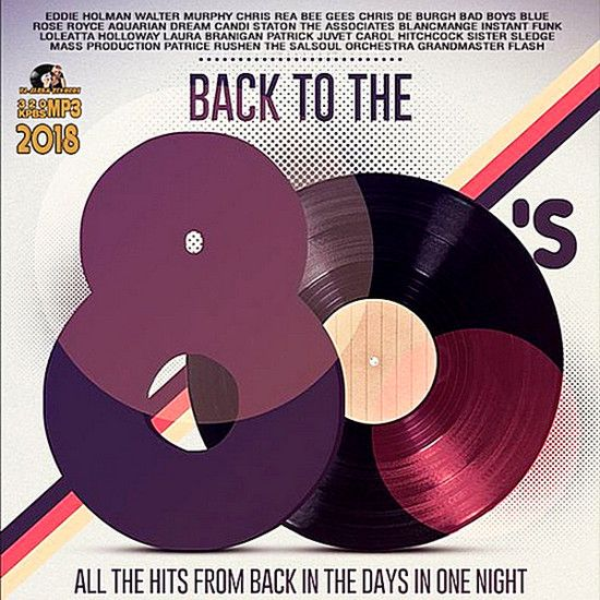 Cd Back To The 80's – 2018