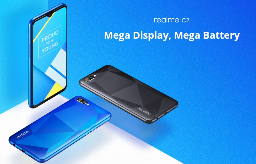 Harga dan Spesifikasi Realme C2 Bertenaga Helio P22 Terbaru di Indonesia