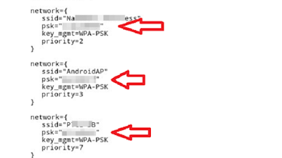 Buka file wpa_supplicant.conf menggunakan text editor/text viewer.