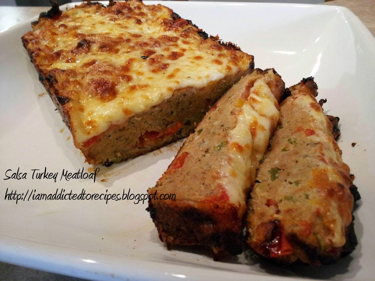 Salsa Turkey Meatloaf | Addicted to Recipes
