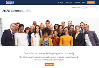 US Census: Now hiring for the 2020 Census