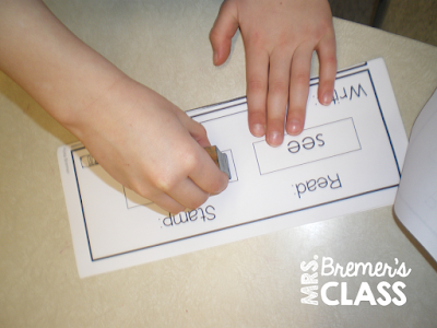 Sight word activity books for the whole year- perfect as a word work or a writing center!