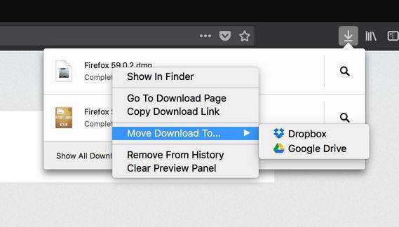 Mozilla está experimentando nuevas opciones de descarga - El Blog de HiiARA