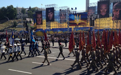 Ukraine celebrated the Independence Day