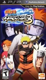 Naruto Shippuden Ultimate Ninja Heroes 3 ISO PPSSPP