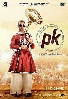 Download Film India Terbaru   PK (2014)   Subtitle Indonesia% PK Theatrical Poster%