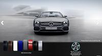 Mercedes SL 400 2016 màu Xám Selenite 992