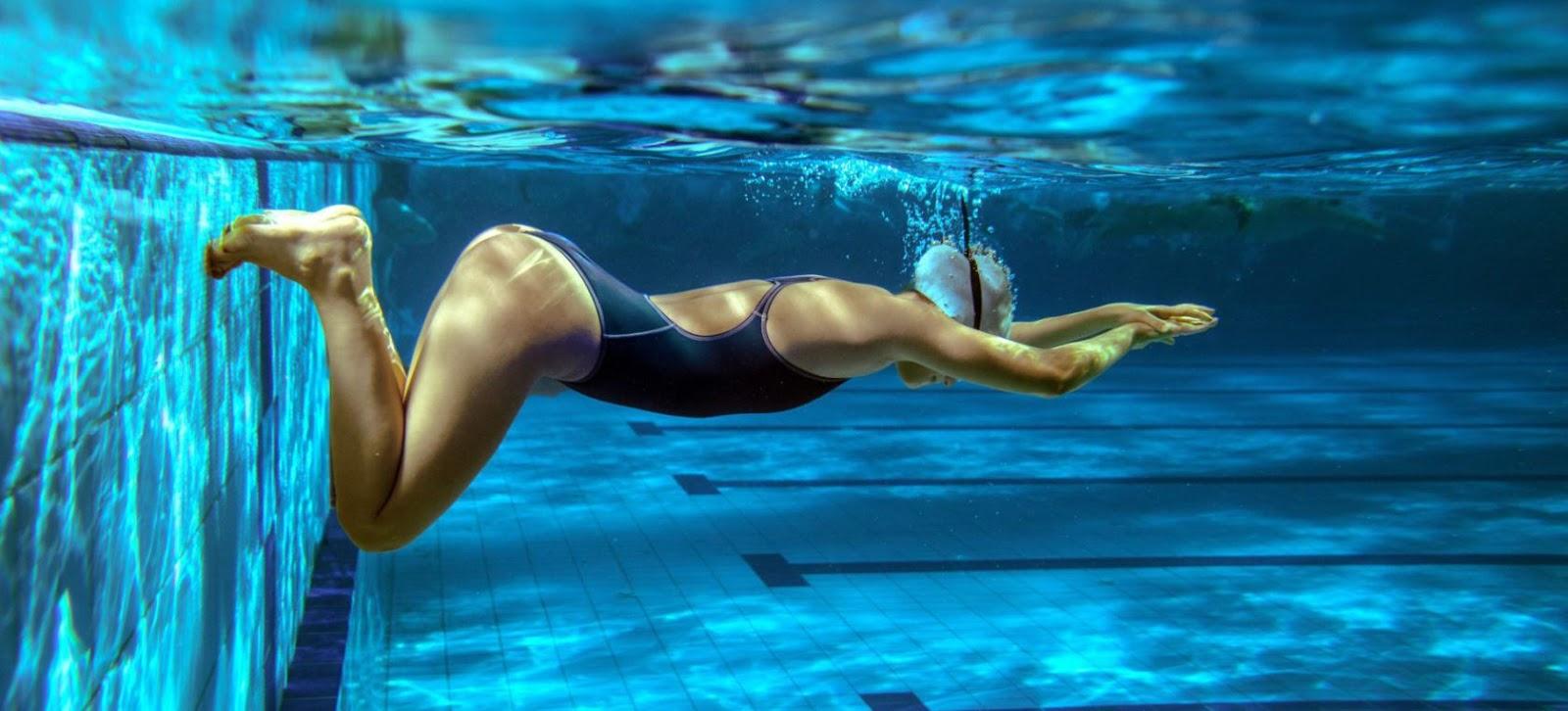 lesiones comunes de natacion
