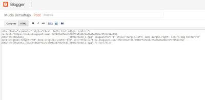 cara ambil kode gambar blogger