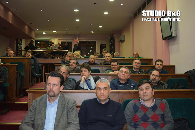 Δημοτικό Συμβούλιο στο Άργος με 23 θέματα