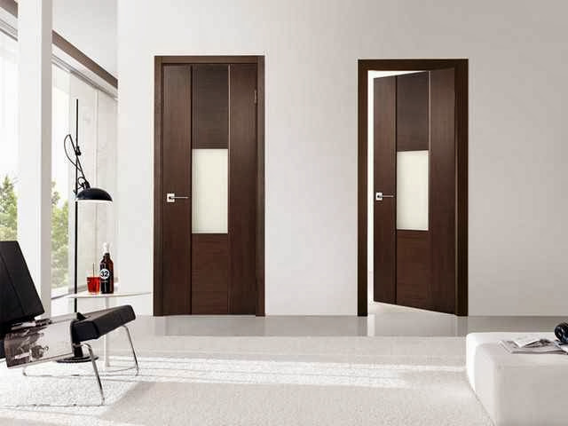 Simple modern Interior door