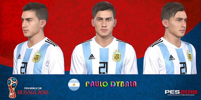 Paulo Dybala New Face PES 2018