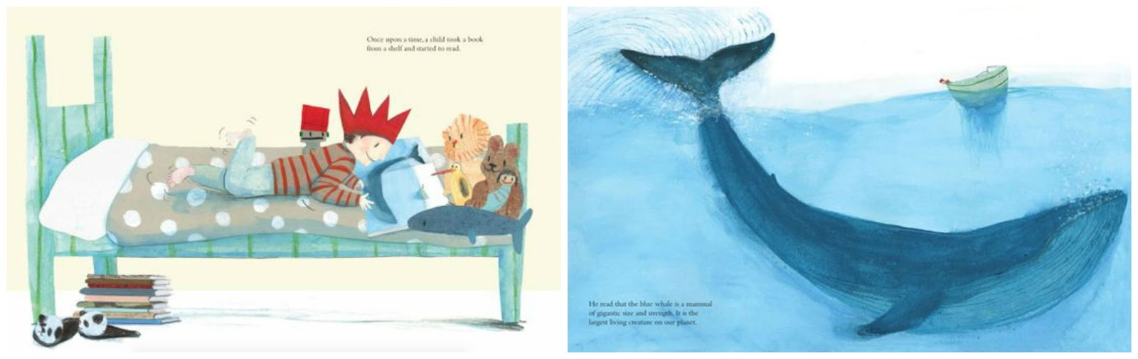 Randomly Reading: The Blue Whale and The Polar Bear, two books ...