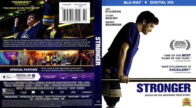 Stronger Bluray Cover