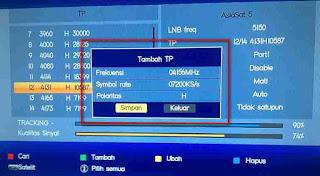 Mencari Channel Feed Asiasat 5