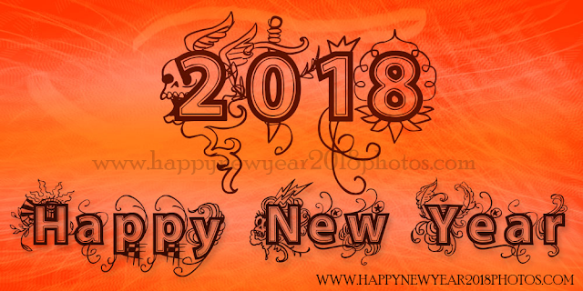 Happy New Year 2018 wishes for Spanish friend