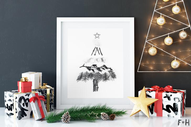 Free Natural Christmas Tree Prints