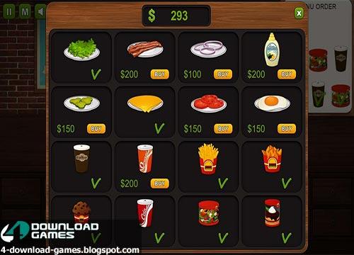 لعبة الطبخ برجر الشيف Burger Chef