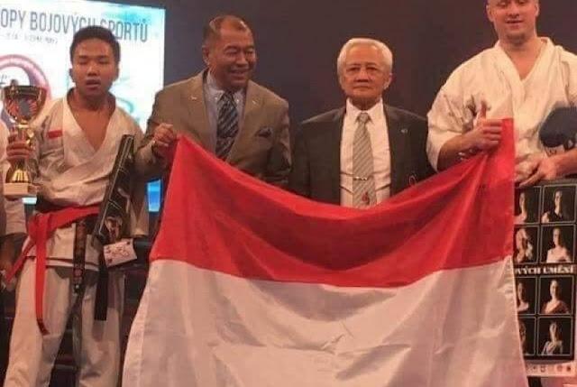 Prahara Fauzan Sang Juara Dunia Karate