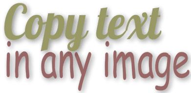 Cách coppy text trong hình ảnh trên website
