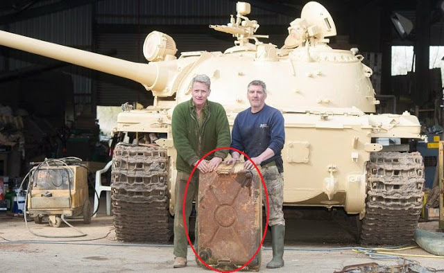Nick Mead and Todd Chamberlain, Russian T54/69