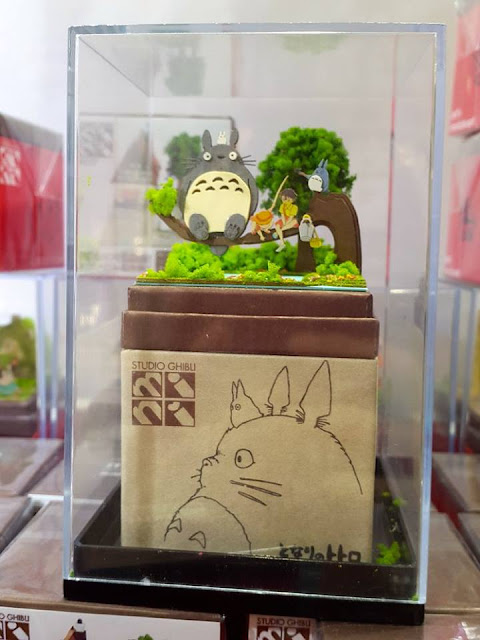 Studio Ghibli Totoro Paper Art at Kiddy Land Harajuku