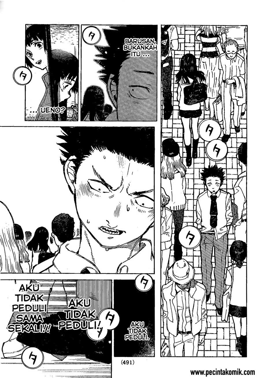 Koe no Katachi Chapter 18-16
