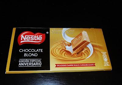 Nestlé Chocolate Blond Caja Degustabox de Noviembre ´16