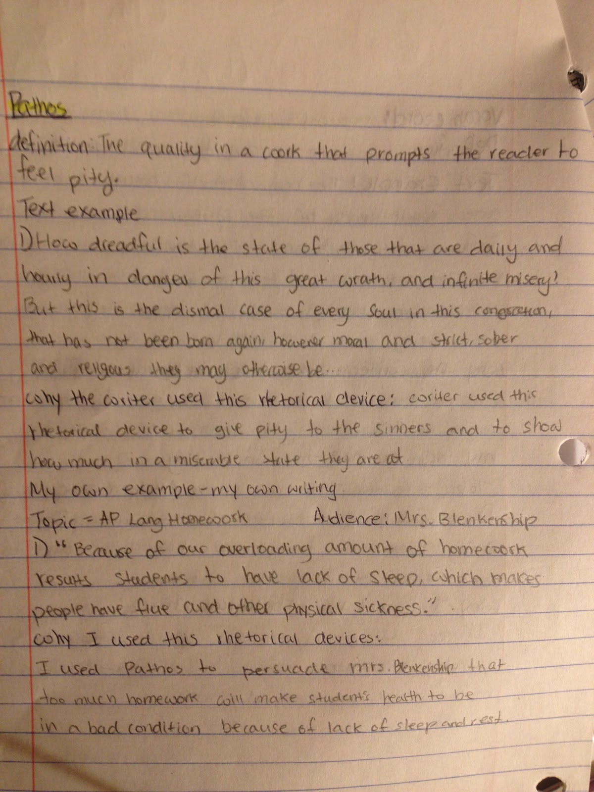 chan song yoon s how to succeed in ap language class 1 what are this is my example of how when why use pathos