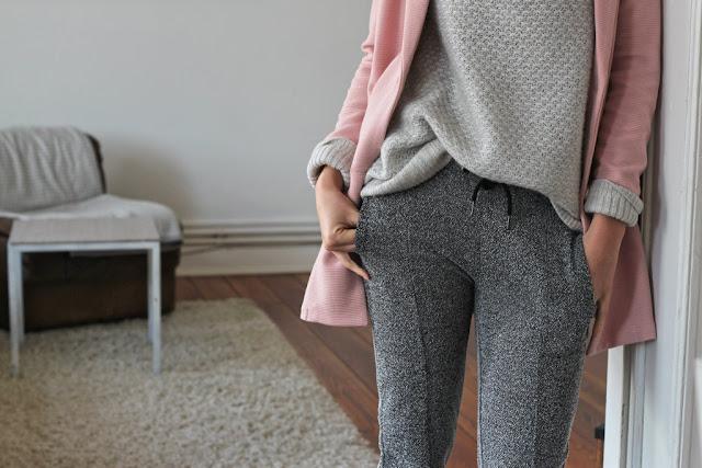 How to style Joggerpants: Modeblog aus Kiel zeigt ein Outfit.