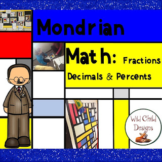 https://www.teacherspayteachers.com/Product/Math-Art-Project-Fractions-Decimals-Percents-2493557