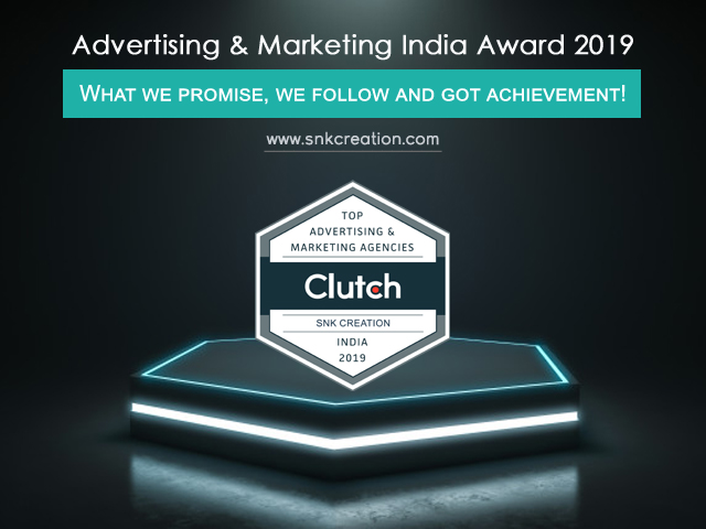 clutch award for best marketing agency in india