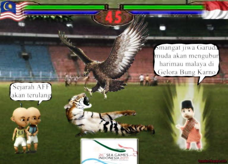 Garuda Vs Harimau - #traffic-club