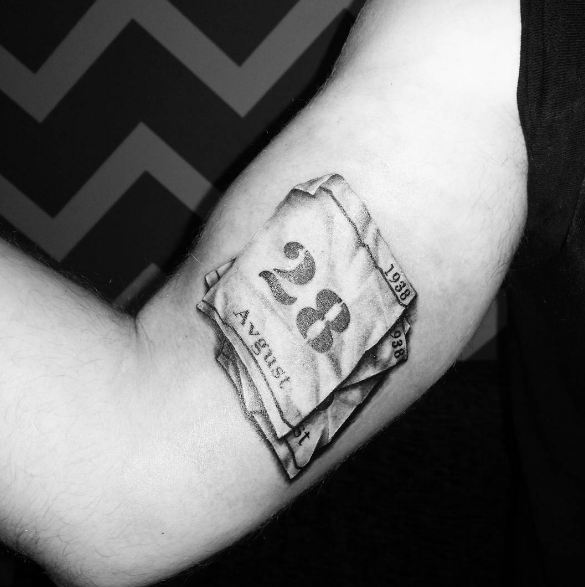 48 Special Date Tattoos Ideas With Beautiful Fonts (2018