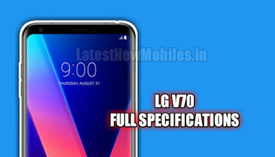 LG V70 Price and Launch Date