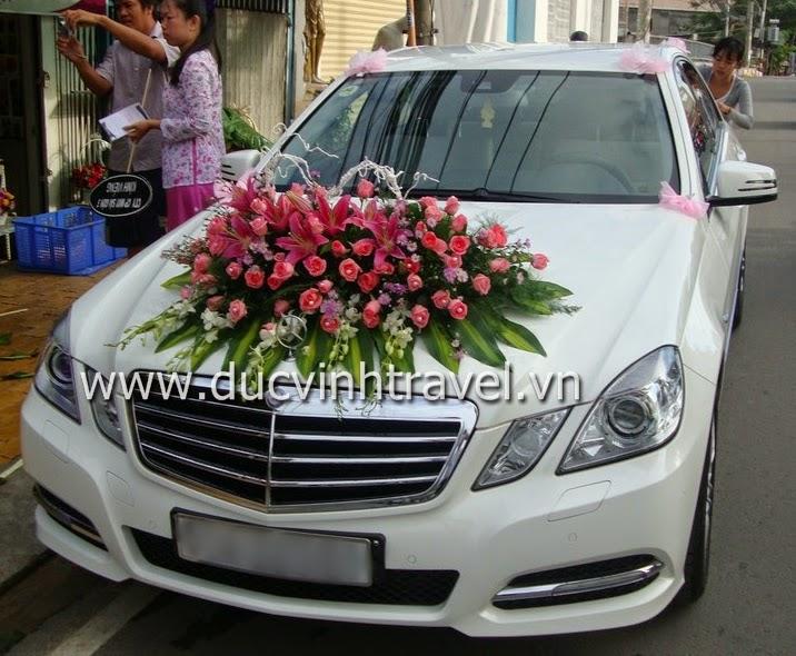 Cho thuê xe cưới Mercedes E250 hạng sang
