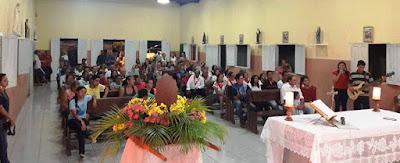 Igreja católica promoveu cinco dias de festa