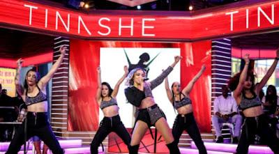 Tinashe Performs A Slam Dunk Peformance Of 'No Drama' On GMA!