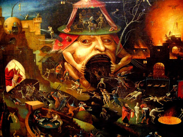 Hieronymus-Bosch, Macabre Art, Macabre Paintings, Horror Paintings, Freak Art, Freak Paintings, Horror Picture, Terror Pictures